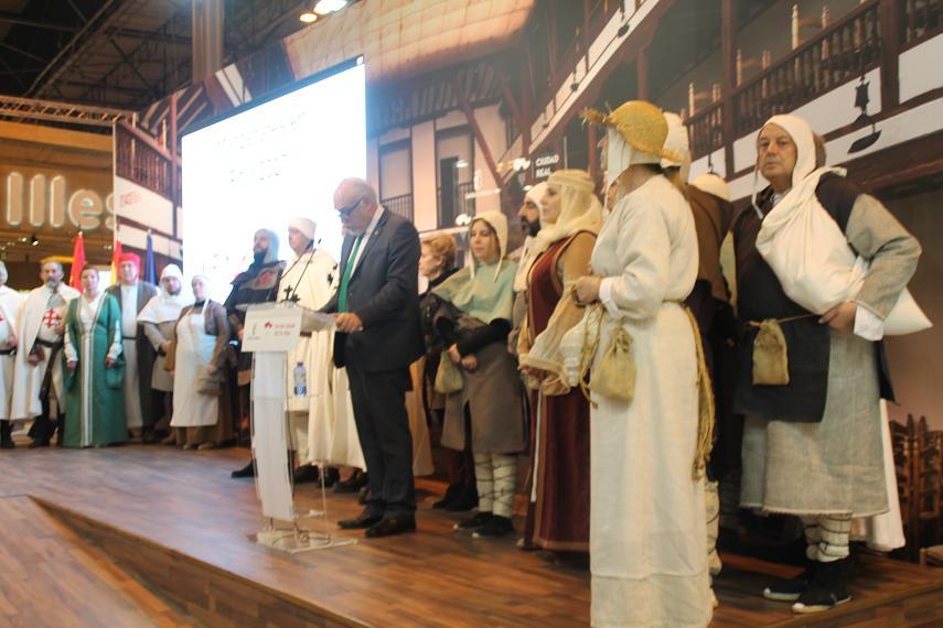 El alcalde de Manzanares, Julian Nieva, anuncia las VI Jornadas Medievales para el primer fin de semana de octubre.