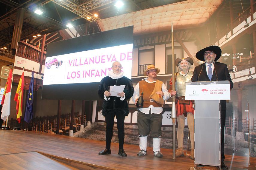 El alcalde de Villanueva de los Infantes, Antonio Ruiz Lucas, destaca al municipio por su cultura, patrimonio y gastronomia.
