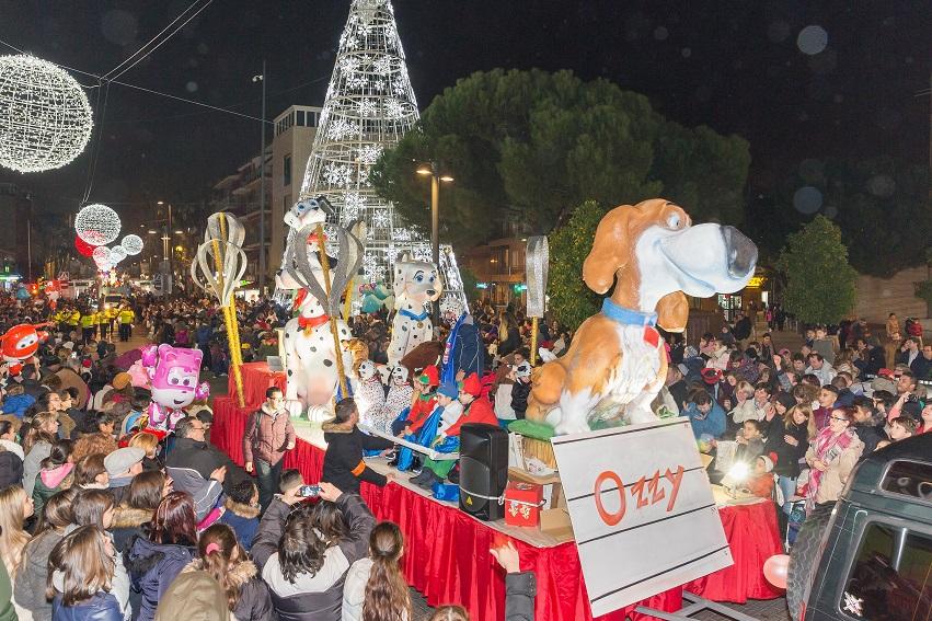 Cabalgata de Reyes en Getafe 02