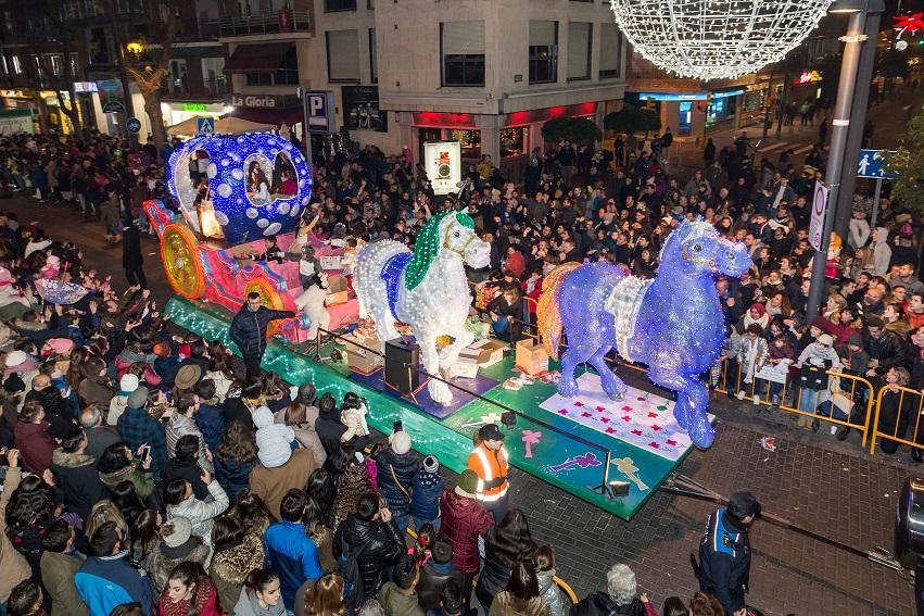 Cabalgata de Reyes en Getafe