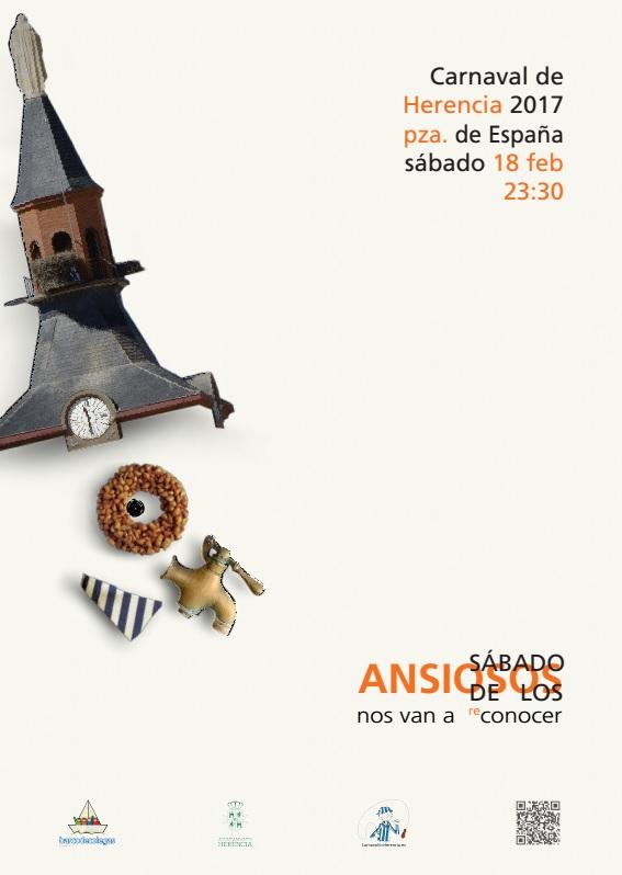 """El cartel del """"Sábado de los Ansiosos 2017"""", obra de Alfredo González"""