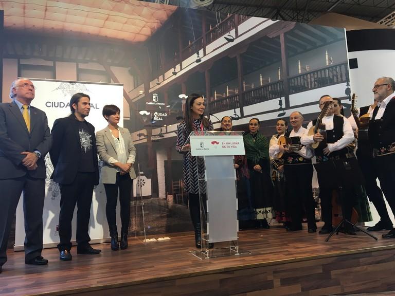 Ciudad Real muestra su riqueza patrimonial en la nueva imagen de promoción turística que ha presentado en la Feria Internacional del Turismo