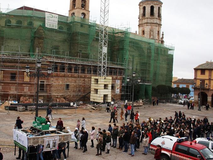 El ensayo solidario de los costaleros la Virgen de las Angustias de La Solana recogió 851 euros