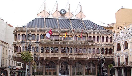 Fachada Ayuntamiento de Ciudad Real