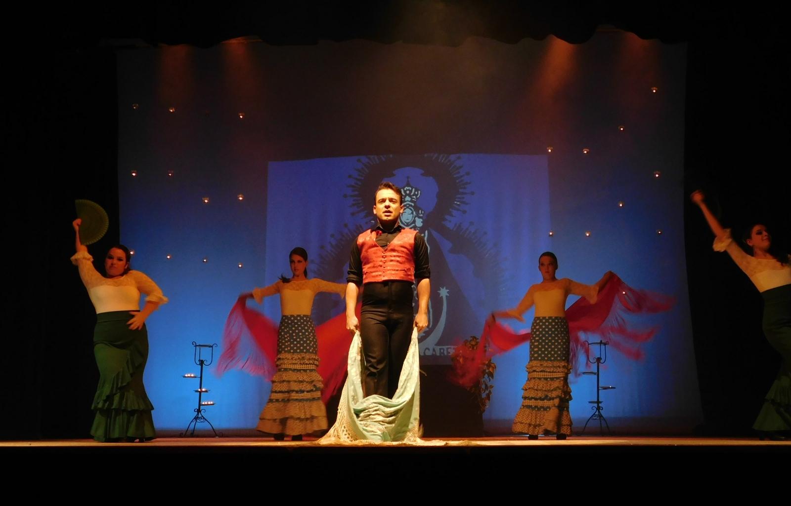 Flamenco solidario en el Ayala de Daimiel