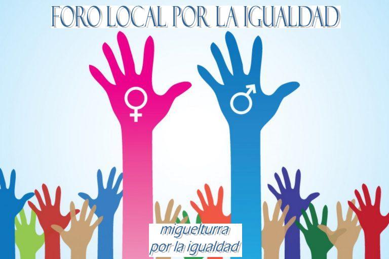 El Foro Local por la Igualdad de Género del Ayuntamiento de Miguelturra inicia su actividad