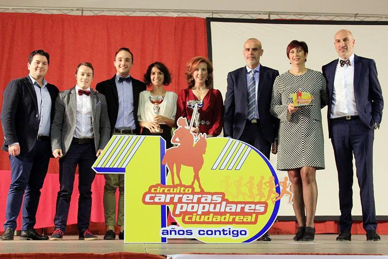 Gala del Circuito de Carreras Populares de Ciudad Real