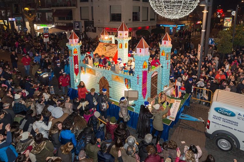 Gabalgata de Reyes en Getafe 01