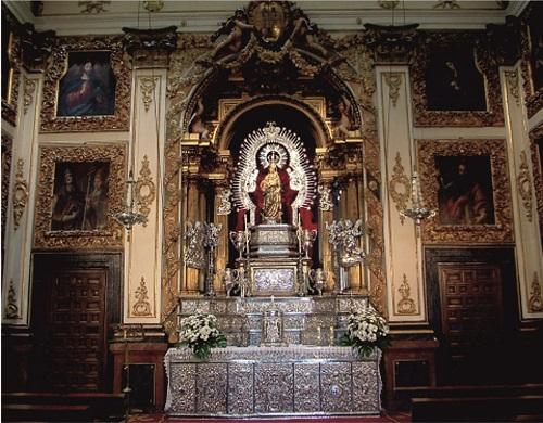 Iglesia Nuestra Señora de la Asunción interior