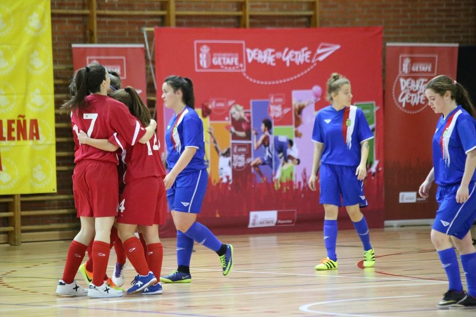 La selección femenina de Madrid clasificada para la fase final del Campeonato de España de Fútbol Sala