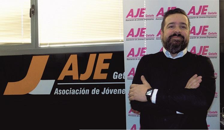 Marcos Avellaneda. Presidente de AJE Getafe