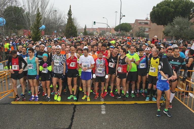 Más de 5.000 corredores participaron en la 18ª Media Maratón 'Ciudad de Getafe'