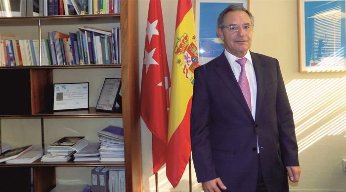 Miguel Ángel Andrés. Director gerente del Hospital Universitario de Getafe