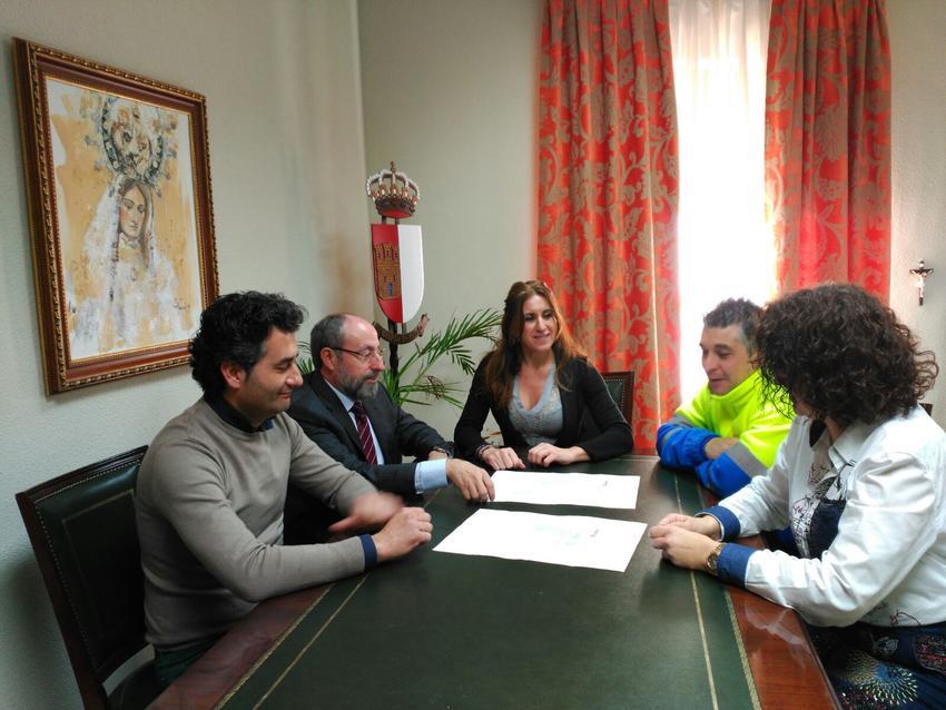 El Ayuntamiento de Carrión de Calatrava y la Cámara de Comercio trabajarán de forma conjunta por la promoción económica, la formación y el empleo