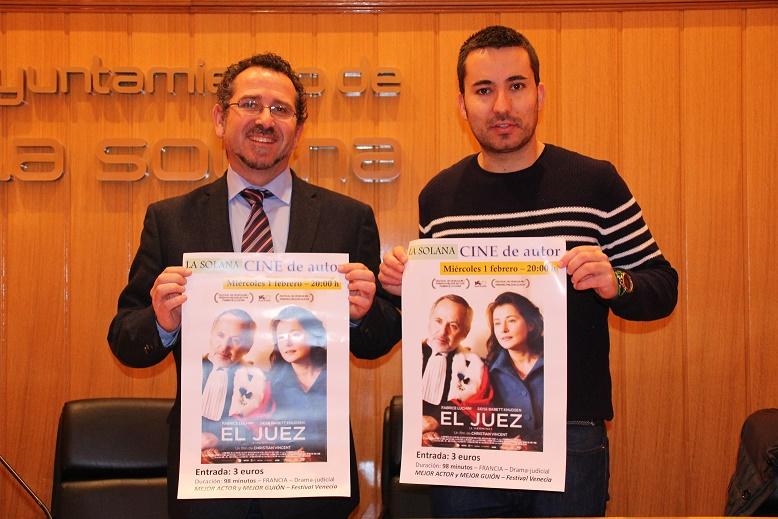 La película 'El Juez' estrenará la sección cultural 'Cine de Autor' en La Solana