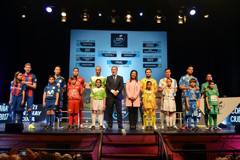 Definidos los emparejamientos de la Copa de España de Fútbol Sala Ciudad Real 2017
