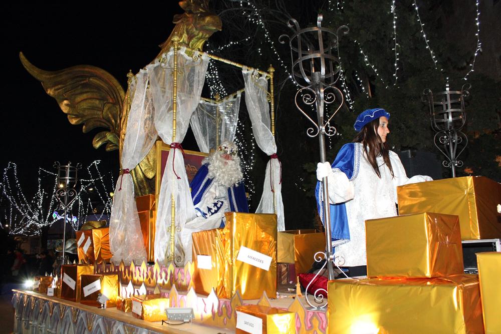 cabalgata Reyes, carroza Melchor