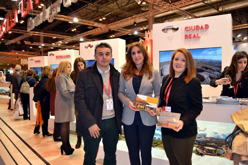 Carrión de Calatrava estuvo presente en FITUR 2017, un año más, para difundir sus recursos turísticos