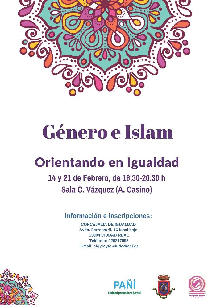 """Abierta en Ciudad Real la inscripción para el Taller """"Género e Islam: orientando en Igualdad"""""""