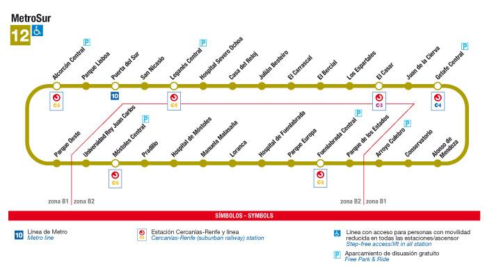 Getafe exige a Metro conocer por escrito los plazos de apertura del acceso de Los Molinos a El Casar