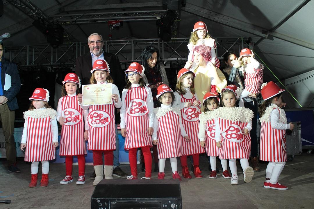 'Palomitas' gana el primer premio del Carnaval infantil en categoría de grupos en Villanueva de los Infantes