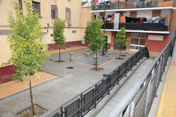 La calle Gaviota ya es accesible para todos los vecinos de Getafe
