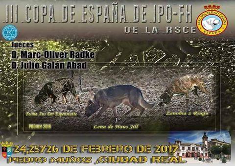 III Copa de Rastro en Pedro Muñoz