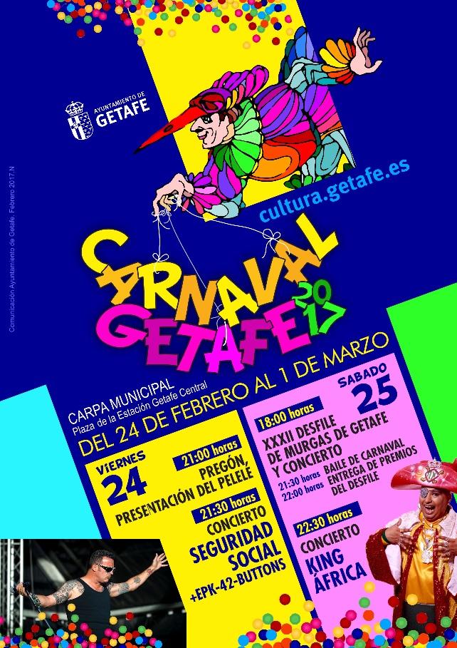 Los disfraces darán color al carnaval de Getafe