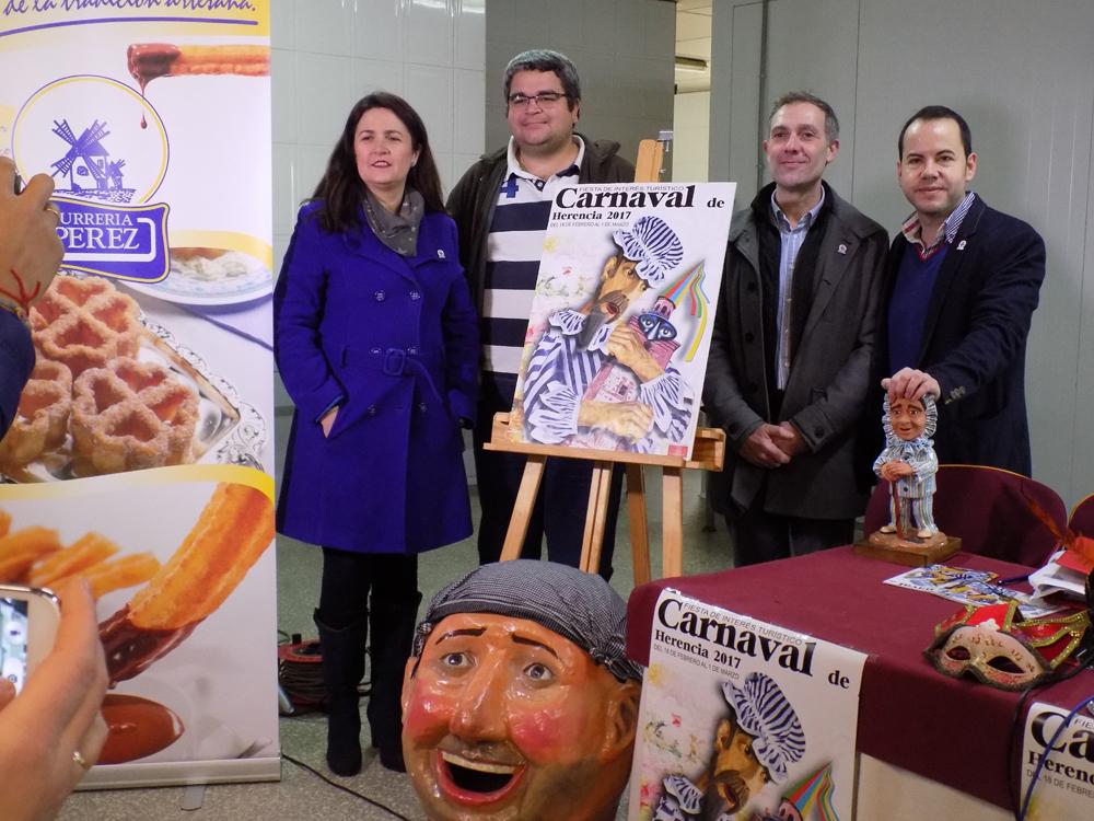 El Ayuntamiento de Herencia crea un distintivo para la difusión de los productos típicos de carnavales