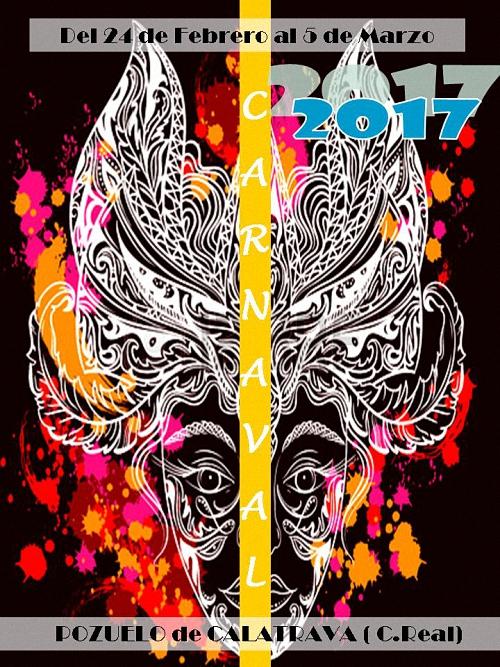 Pozuelo de Calatrava ya tiene cartel anunciador del Carnaval 2017