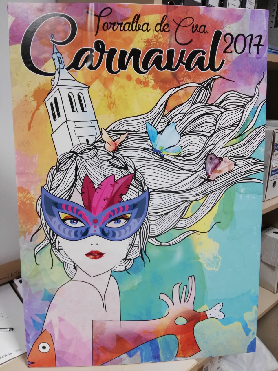 Elegido el cartel ganador del carnaval de Torralba de Calatrava