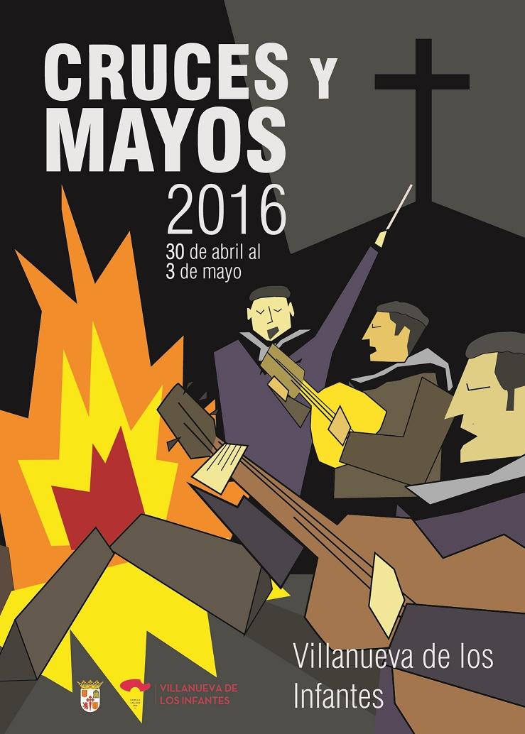 Bases del Concurso para la elección del Cartel de la Fiesta de Cruces y Mayos 2017 de Villanueva de los Infantes