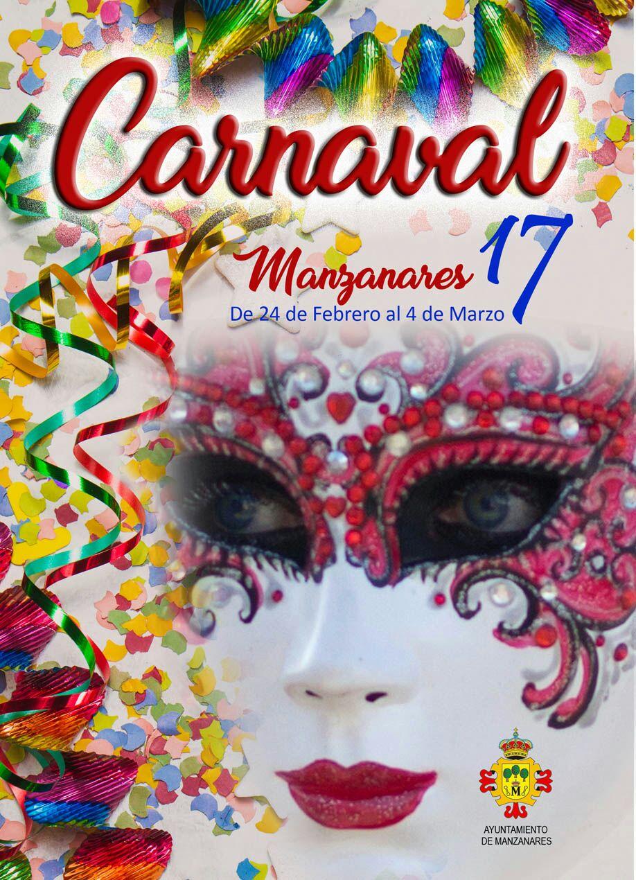 Festejos presenta el amplio abanico de actos y actividades del Carnaval 2017 en Manzanares