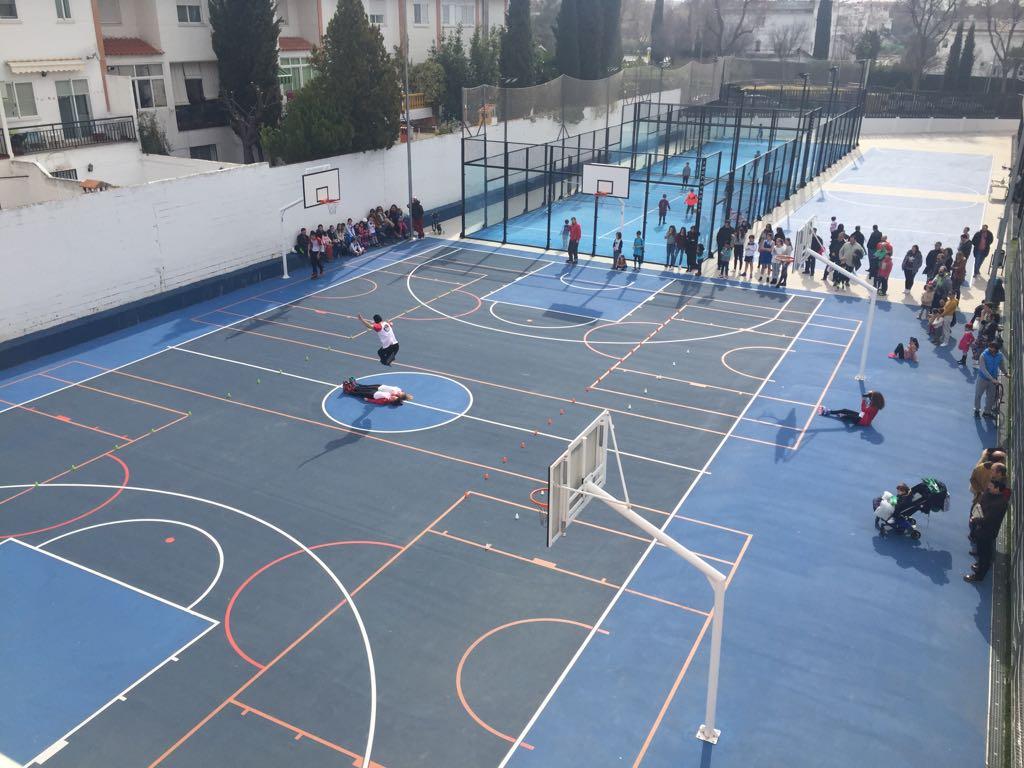 Jornadas de puertas abiertas deportivas en el Colegio Santo Tomás de Ciudad Real