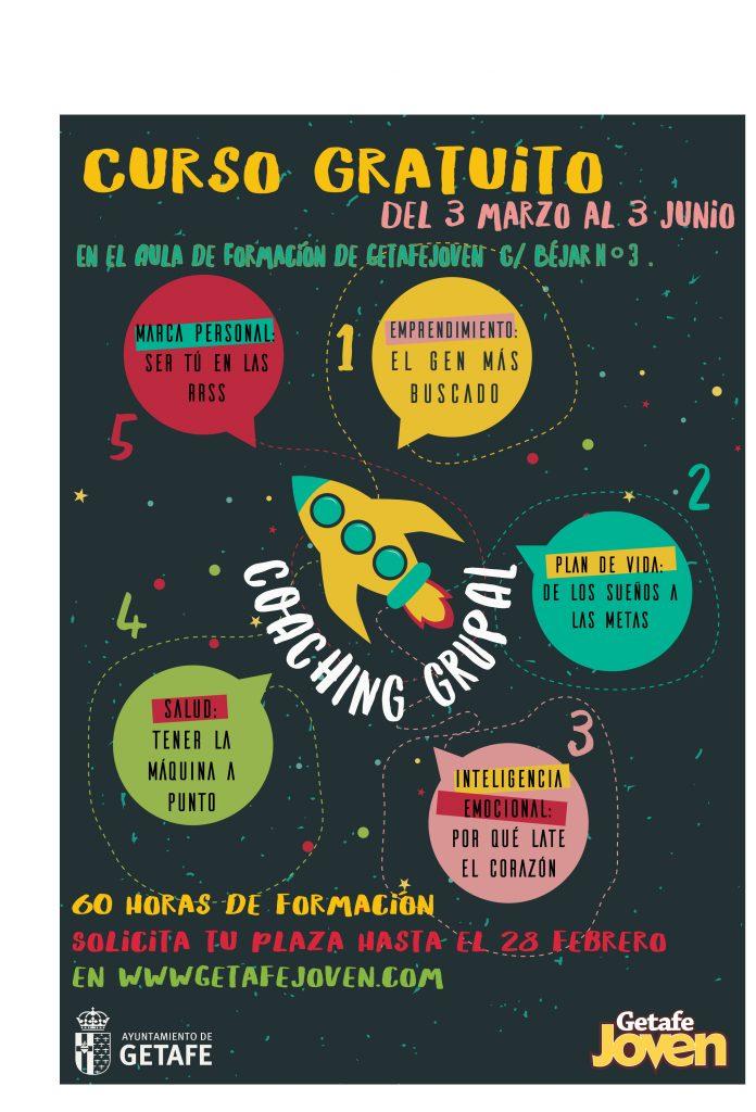 Getafe Joven ofrece un curso gratuito para mejorar la empleabilidad de los jóvenes del municipio