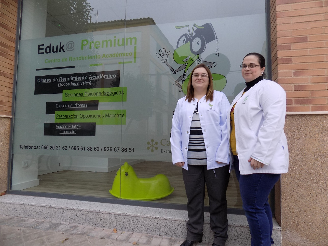 Mejores instalaciones y aulas más amplias en la nueva sede de Academia Eduk@Premium de Alcázar de San Juan
