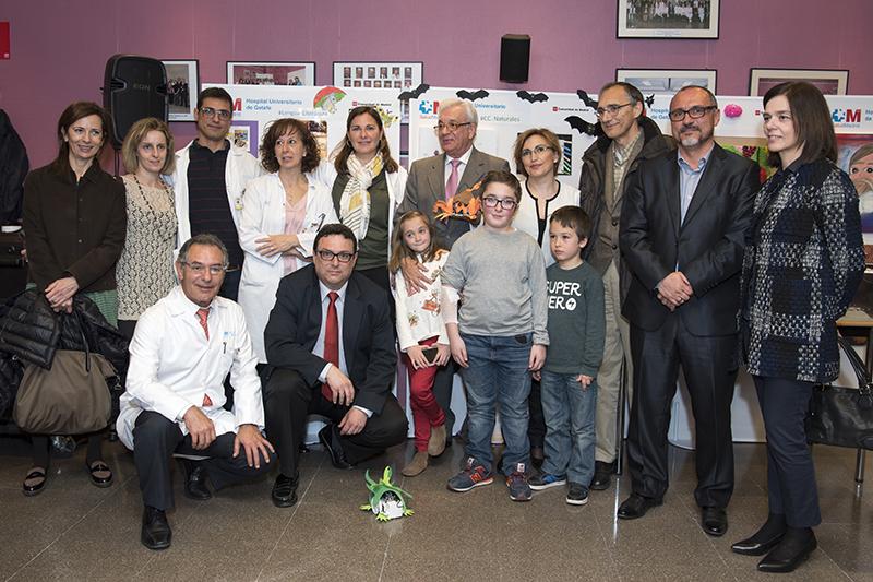 Encuentro con niños con osteogénesis imperfecta en el Hospital de Getafe