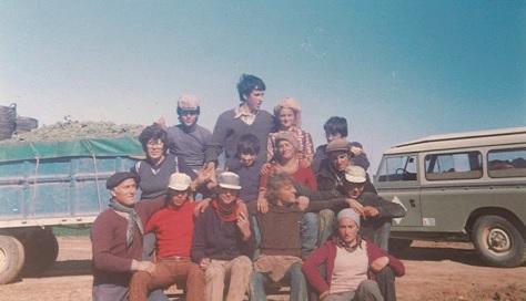 Familia Delgado Alarcón en 1977