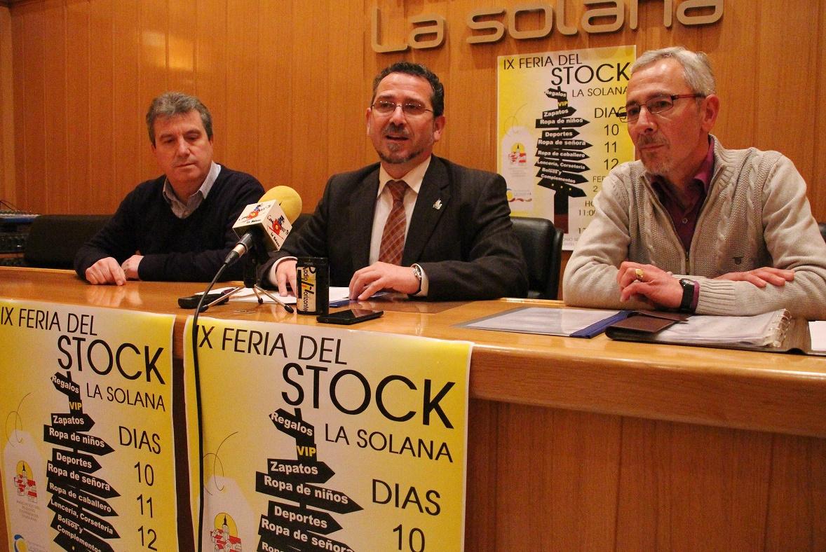 La IX Feria del Stock, del 10 al 12 de febrero en el pabellón 'Antonio Serrano' de La Solana
