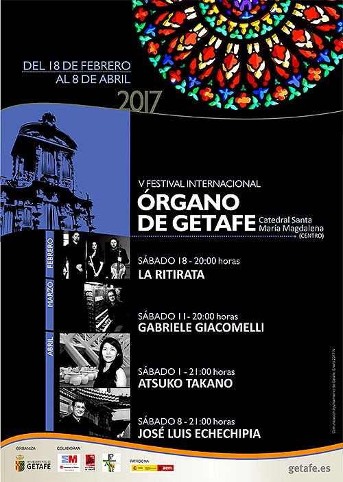 La Catedral de la Magdalena acoge el 'V Festival Internacional de Órgano de Getafe'