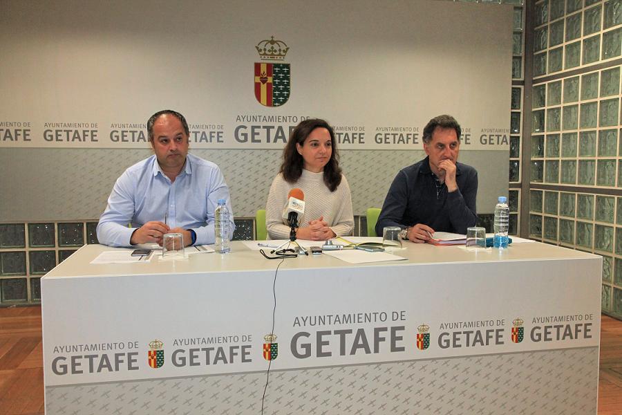 Getafe exige a la Comunidad el inicio de las obras del Colegio Miguel de Cervantes