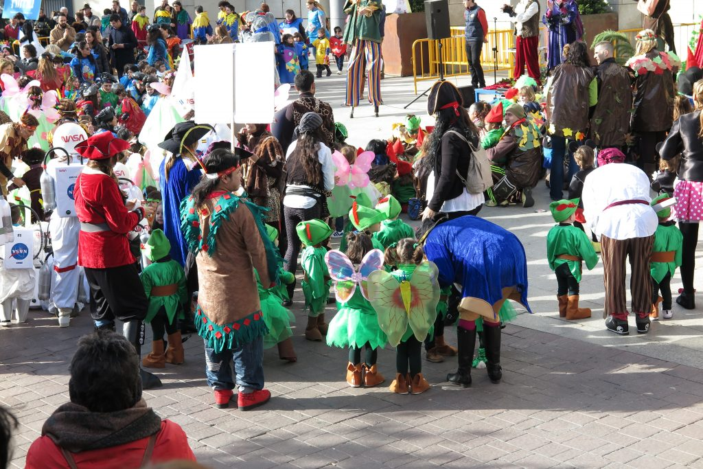 420 niños y niñas de entre 2 y 6 años de Getafe participarán en el 'Desfile de Murguitas Infantiles'