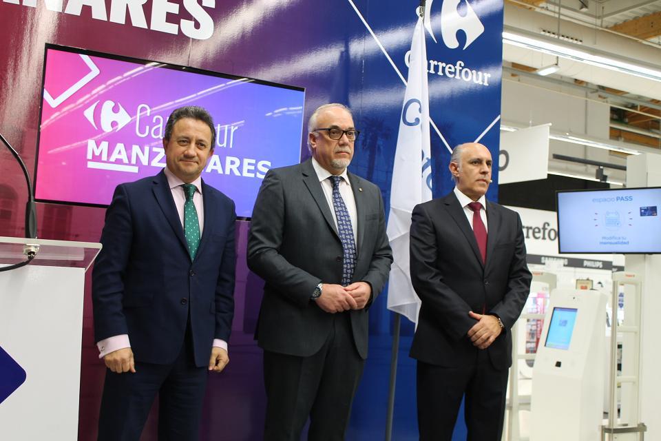 Inauguración Carrefour Manzanares 01