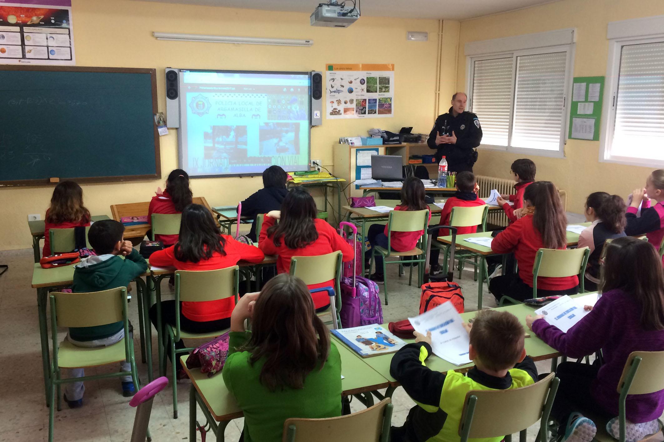 Comienzan las IX Jornadas de Educación Vial Escolar de Argamasilla de Alba
