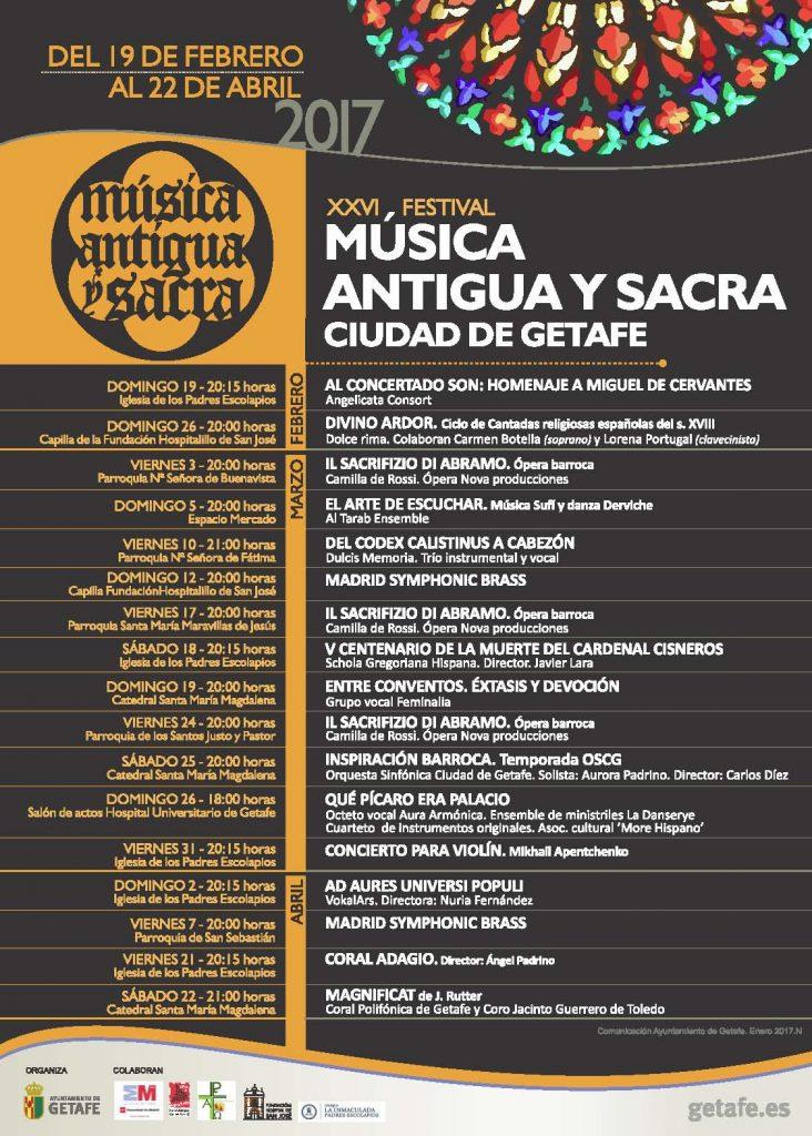 Se inicia el XXVI Festival de Música Antigua y Sacra 'Ciudad de Getafe'