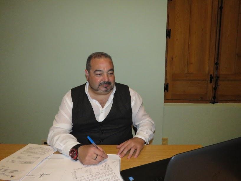 Miguel Ramírez. Concejal de Seguridad del Ayuntamiento de Manzanares