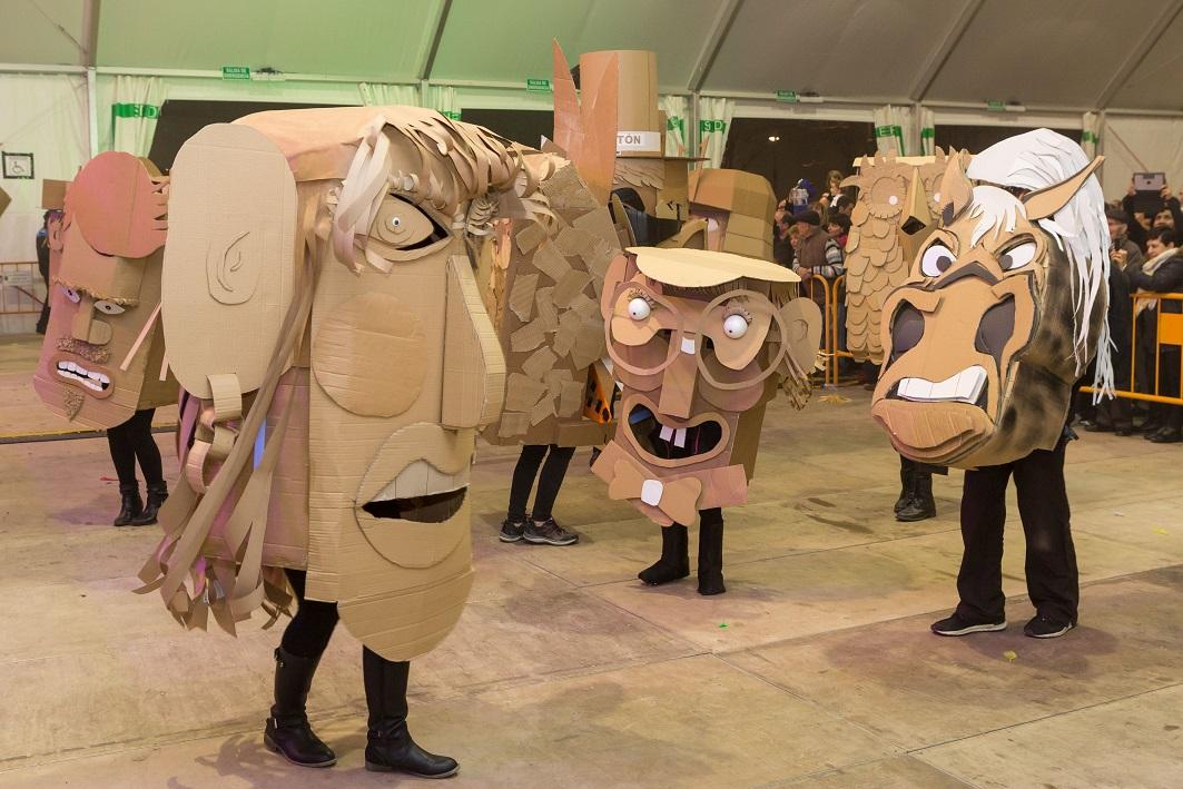 Murga 'El Titiritón', los ganadores, que serán los encargados del pregón de Carnaval próximo