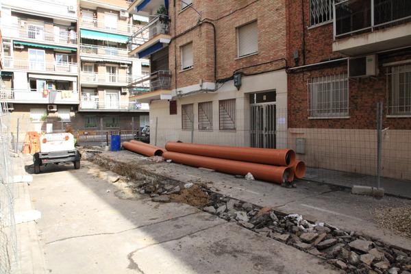 Comienzan las obras de mejora de la calle Fray Diego Ruiz de Getafe