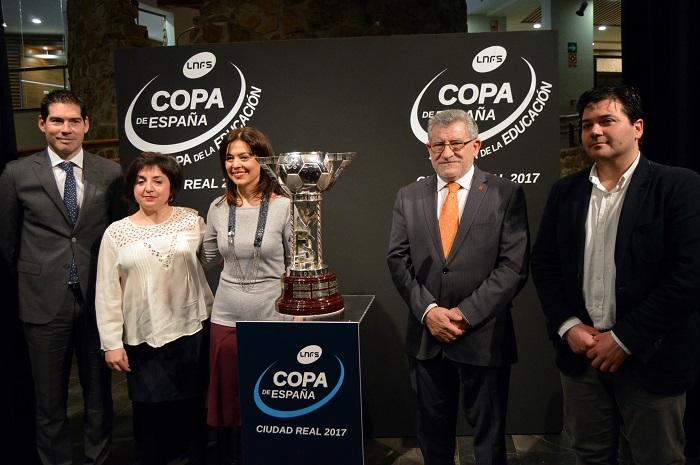 Presentado en el Museo de El Quijote el Programa de Actividades de la Copa de España de Fútbol Sala