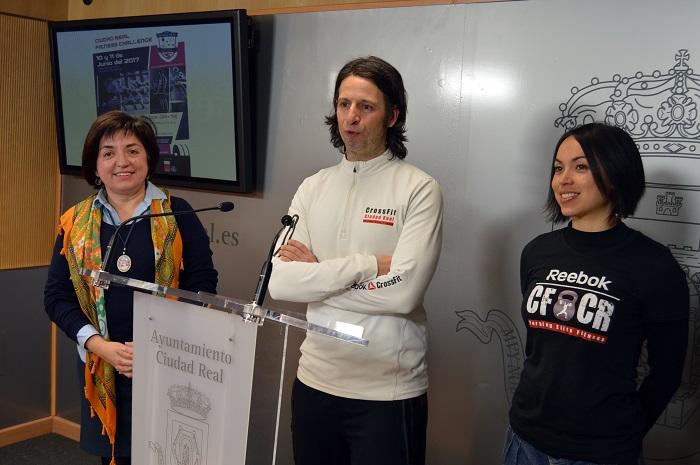 """El Polideportivo Rey Juan Carlos acogerá en junio la """"Ciudad Real Fitness Challenge"""""""